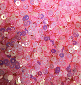 3mm Barbie Baby Pink Sequins