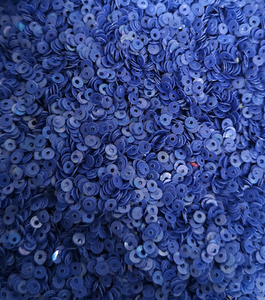3mm Blueberry Purple opaque Sequins