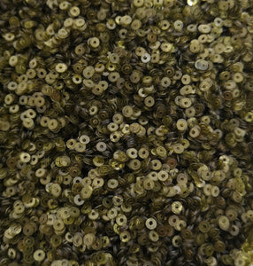 3mm Olive Green translucent Sequins