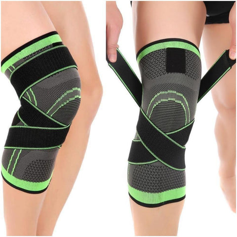 Best Knee Compression Sleeve and Knee Support Brace with Patella Stabilizer Straps