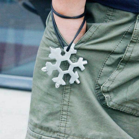 FEX™ 18-in-1 Stainless Steel Snowflakes Multi-Tool