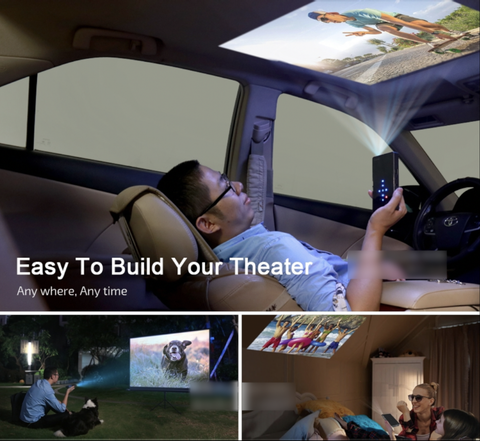 Portable Home Cinema