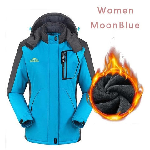 Befusy Women Windproof Waterproof Ski Jackets