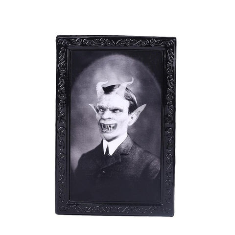Variable 3D Ghost Picture For Halloween Decoration