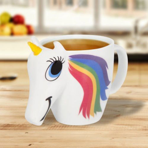 Magical Color Changing Unicorn Ceramic Mug