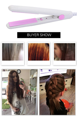 Portable Electronic Hair Straightener