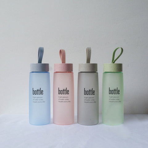 520 ML Frosted Water Drinking Bottle
