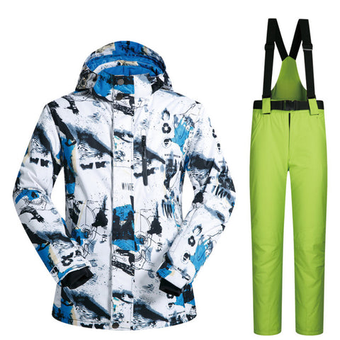 Winter Ski Thermal Suit (Waterproof + Windproof)