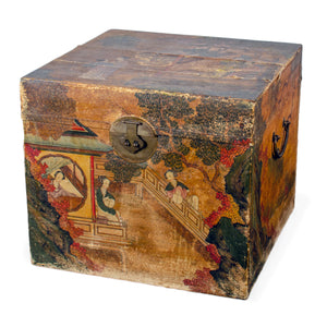 Chinese Pigskin Box, 19th Century