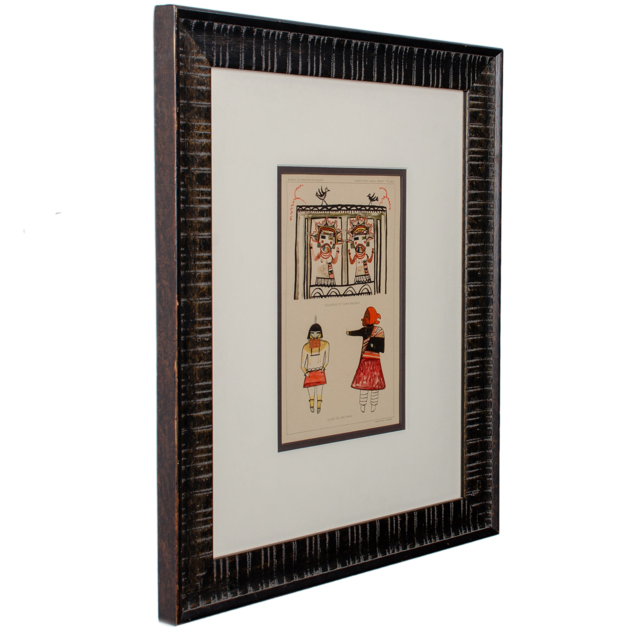 Hopi Kachina Chromolithographs c.1903 - Set of 3