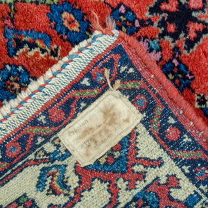 "Antique Arak Rug 2'7"" X 3'9"""