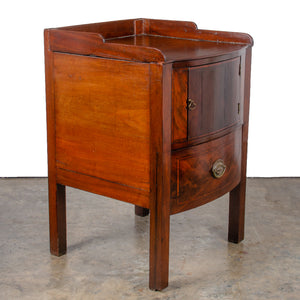 George III Mahogany Bedside Commode