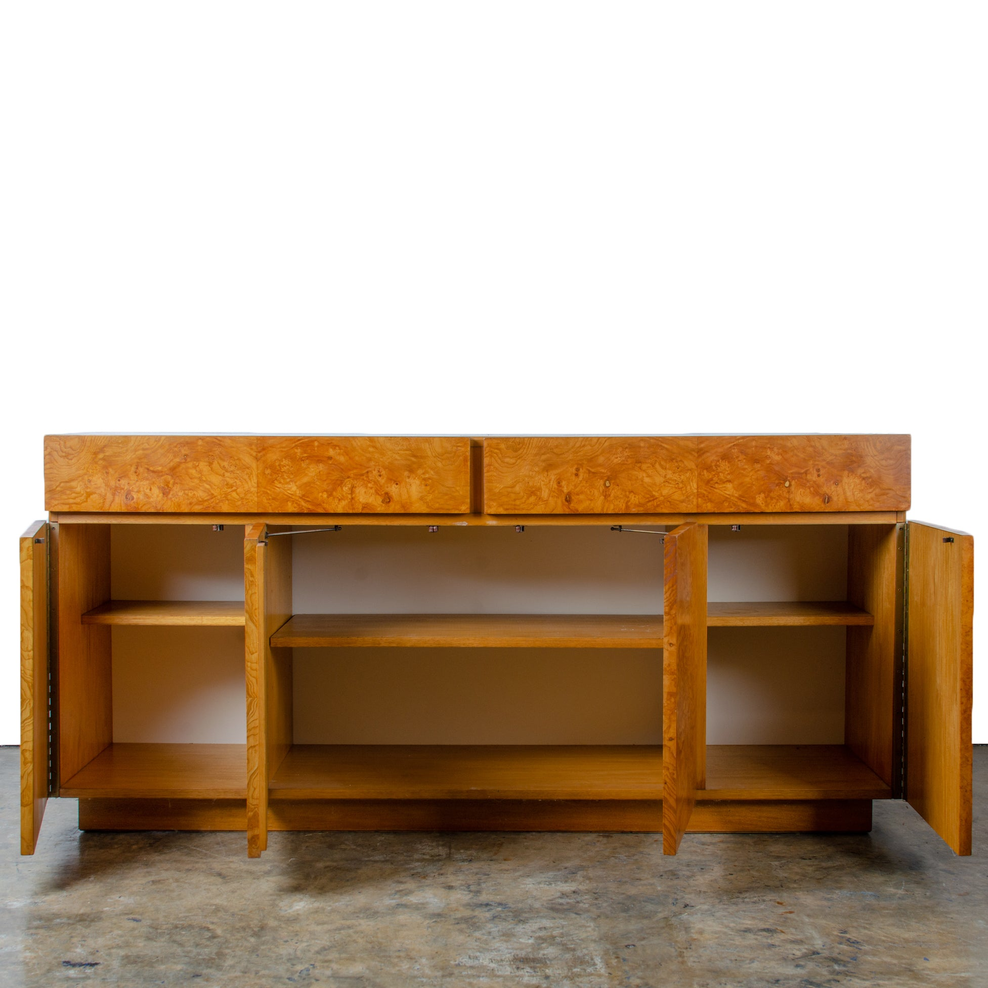 Roland Carter for Lane Furniture Burl Credenza