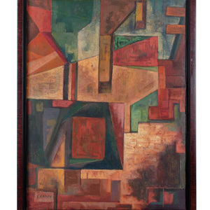 Frederick Kann - Abstract Composition, c.1930s