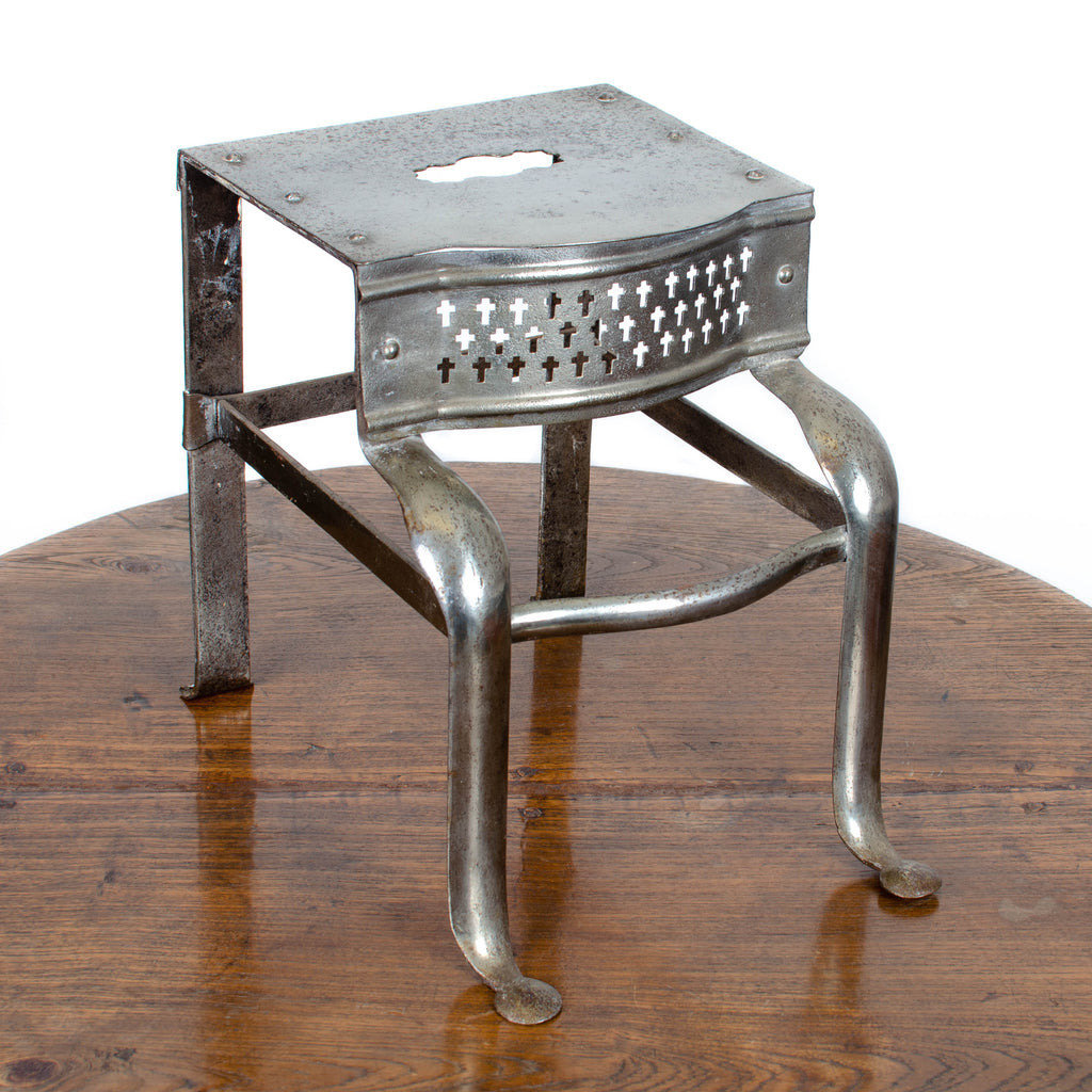 19th c. Steel Footman