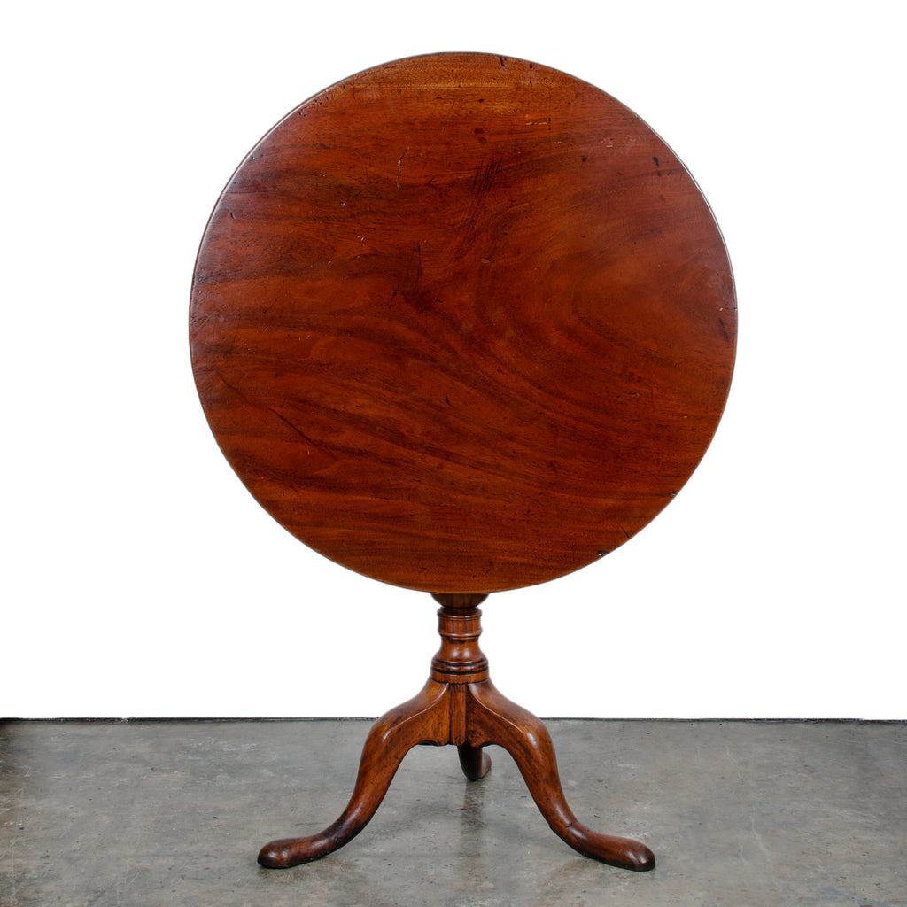 Chippendale Mahogany Tilt-Top Table, c.1760