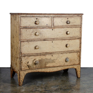 George III Painted Chest of Drawers