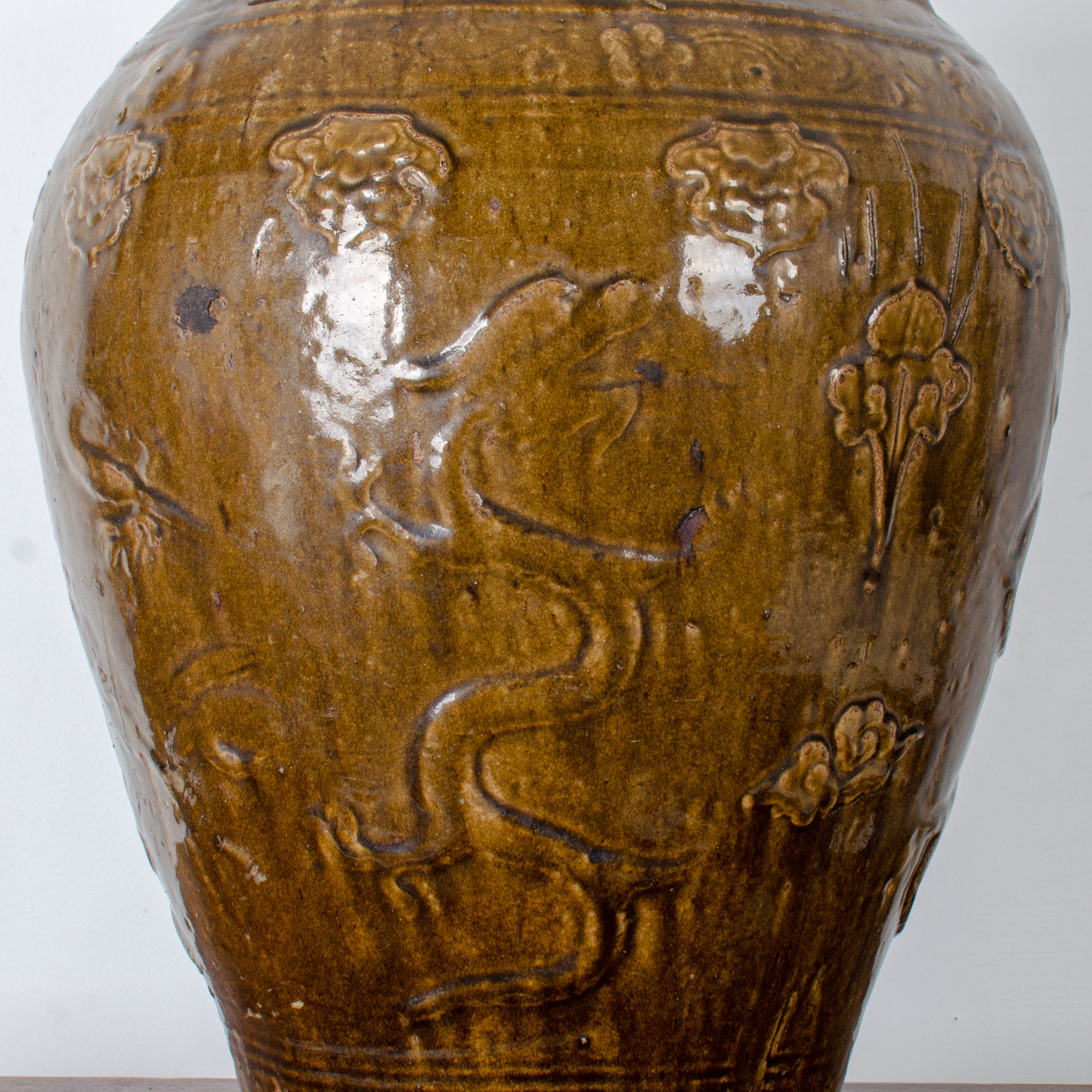 Large Martaban Storage Jar