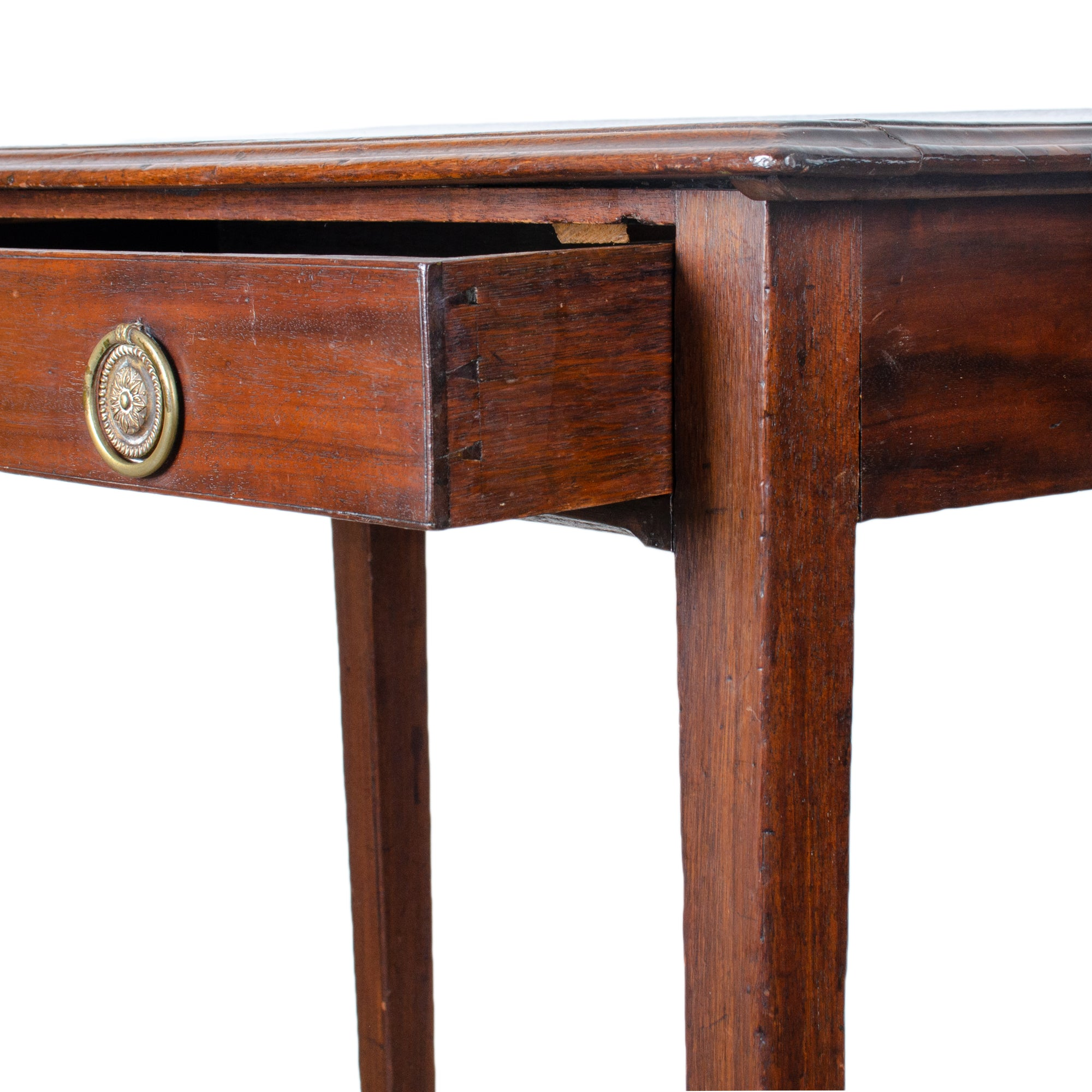 Georgian Mahogany Side Table, c.1790