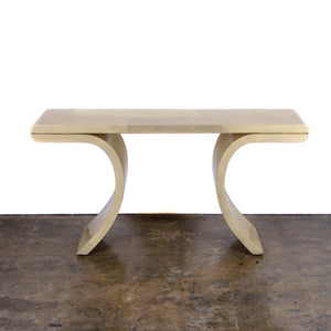 Springer Style Goatskin Console Table
