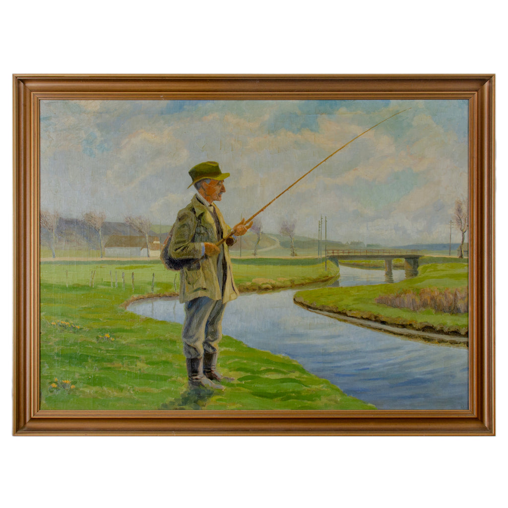 Fisherman Oil on Canvas