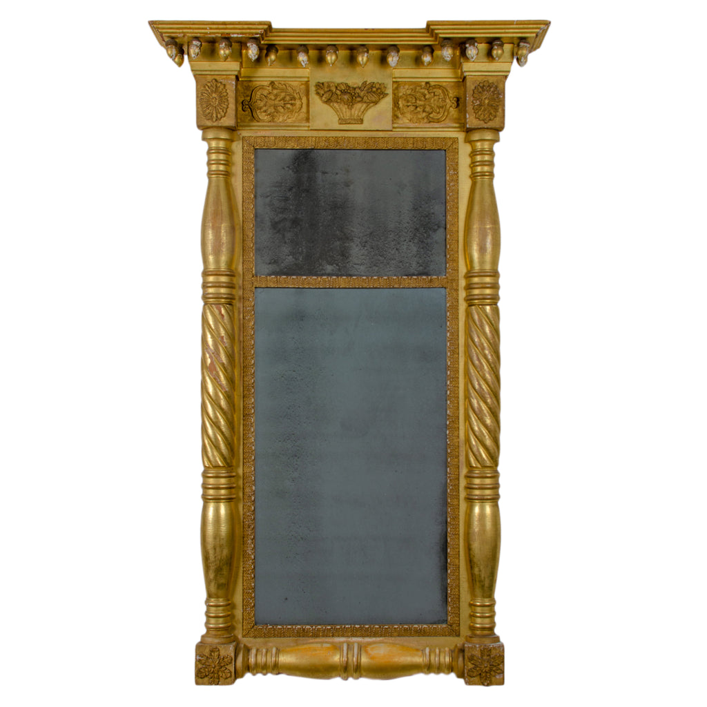 American Empire Pier Mirror, 19th Century