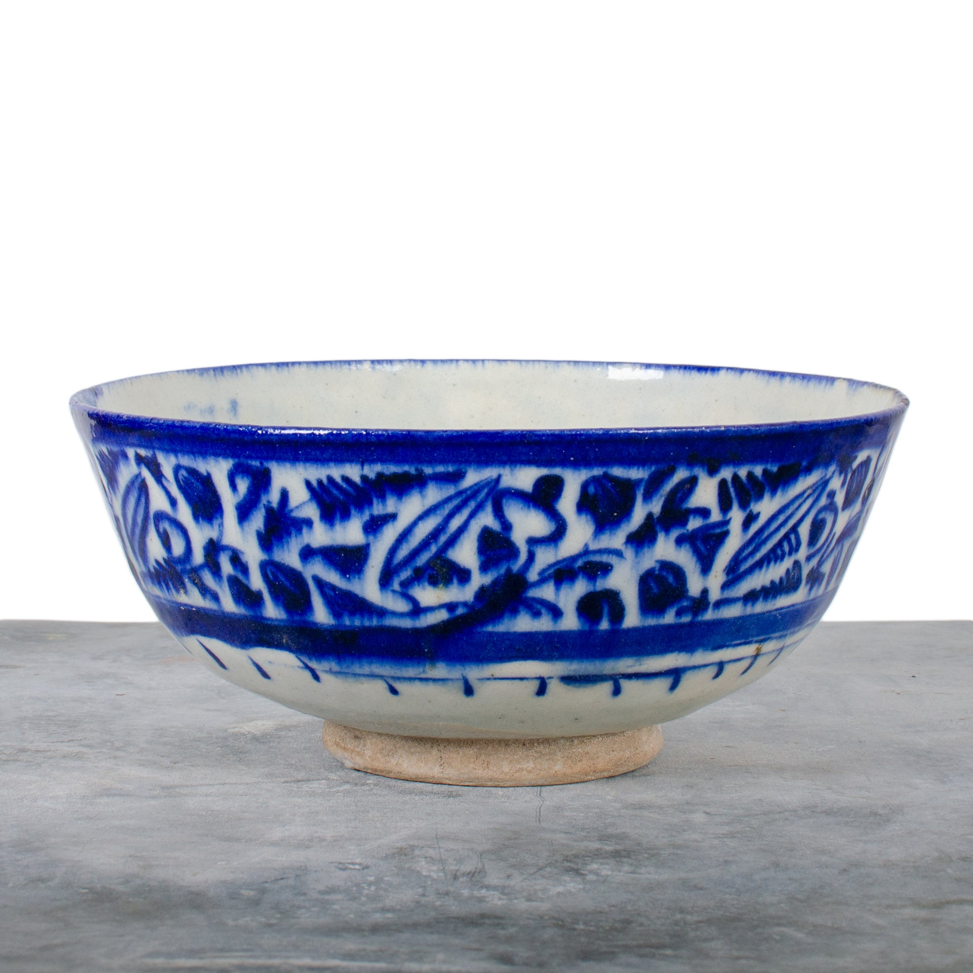 Persian Safavid Fritware Bowl, c.17th Century