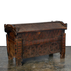 Riven Shepherd's Coffer, Transylvania, 19th Century