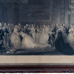 Queen Victoria Drawing Room at St. James's Palace Engraving Print