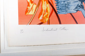 """Industrial Cottage"" Original Lithograph by James Rosenquist"