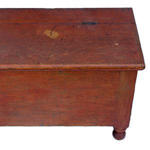 c.1850 New York Primitive Storage Bin