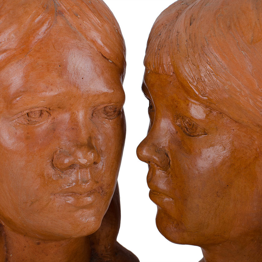 A. Wolfe Davidson - Jones Sisters Busts, 1967