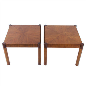Vintage Modern Rosewood Side Tables