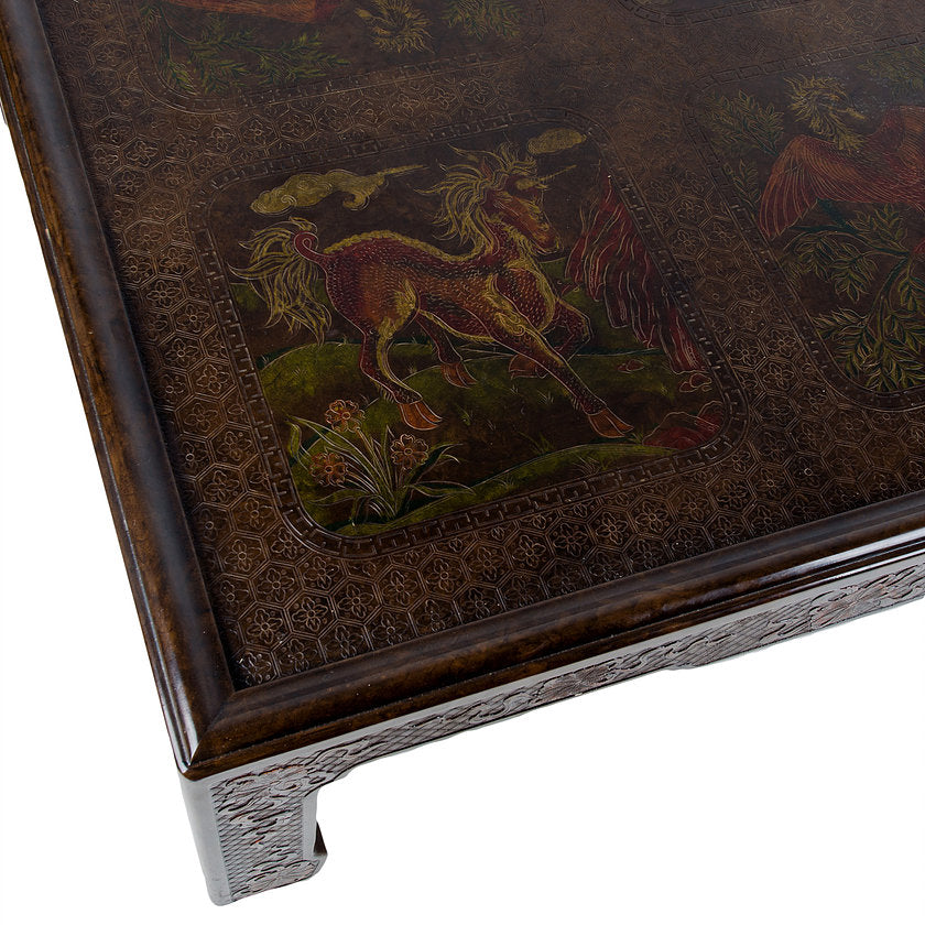 Mario Buatta for John Widdicomb Chinoiserie Coffee Table