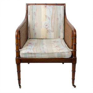 Bamboo & Cane Regency-Style Chair by Hickory Chair Co.