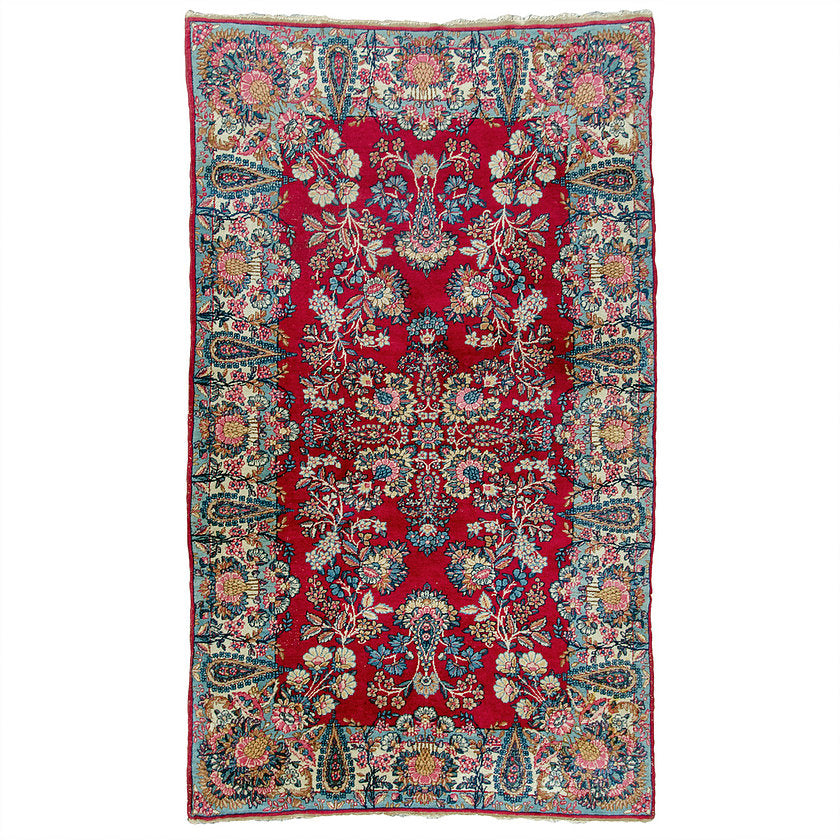Antique Kerman Rug, 4' X 6'8""