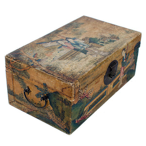 Chinese Qing Dynasty Pigskin Boxes - a Pair