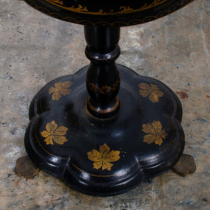 Victorian Papier-Mâché Tilt Top Table