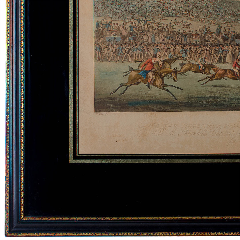 Antique English Sporting Prints From Alken and Alden - a Pair