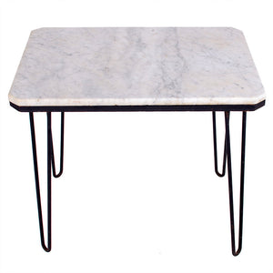 Carrera Marble Hairpin Table