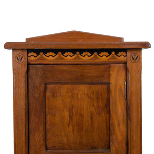 Art Nouveau Music Cabinet by Christopher Pratt & Sons, Bradford, Late 19th c.