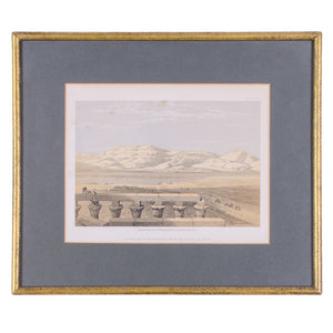 David Roberts Lithographs of Egypt - Set of 5