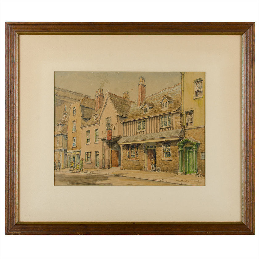 St. Mary's The Vaults Pub, Watercolor