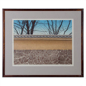"Ted Colyer ""November"" Woodblock Print"