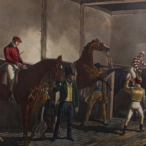 Fore's Stable Scenes, Thouroughbred Horses, London 1844
