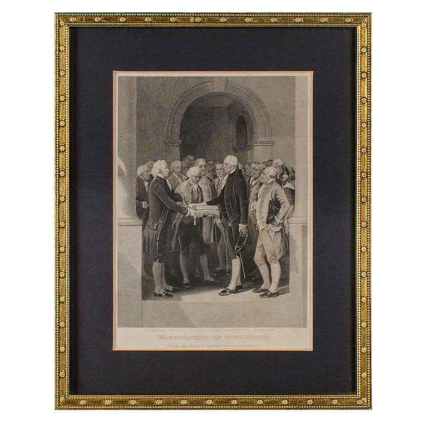 Alonzo Chappel, U.S. Political History Engravings, c. 1856 - Set of 6