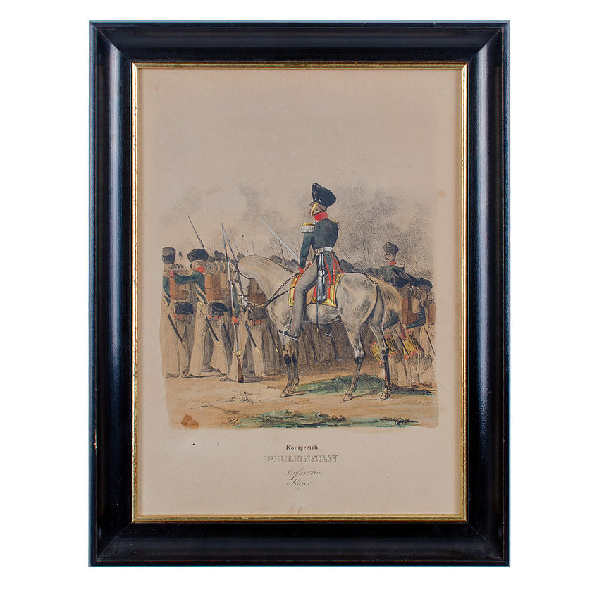Eckert & Monten Prussian Military Lithographs