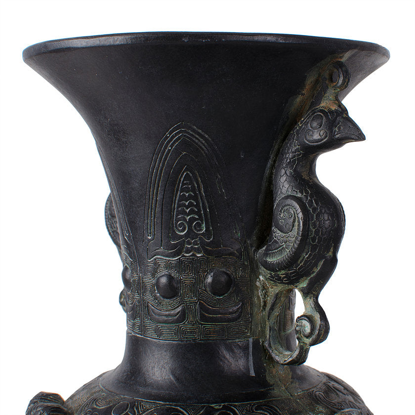 Chinese Archaic Style Bronze Ritual Vessel