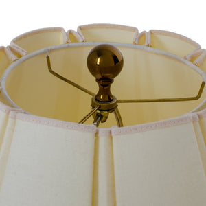 Brass & Lucite Lamps - A Pair