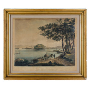 Windermere Lake, Cumbria, England - Aquatint Engravings by Jukes c.1796